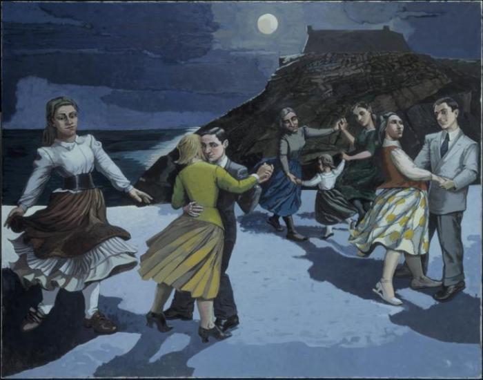 The Dance 1988 by Paula Rego born 1935