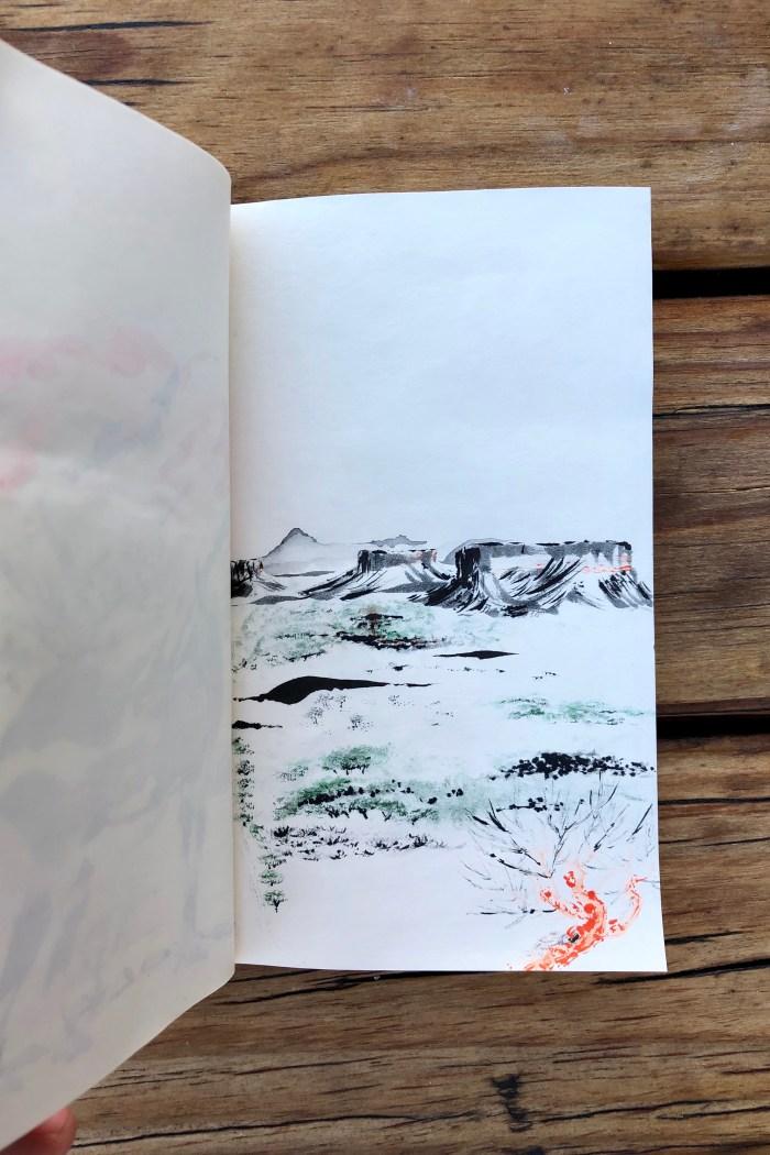 Damaraland drawing