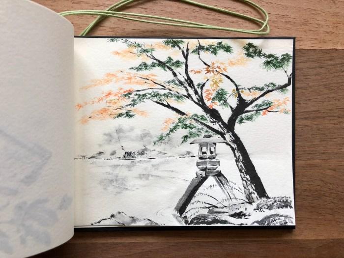 Kenrokuen sketch