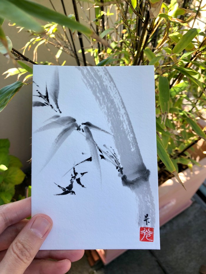 bamboo swifts postcard