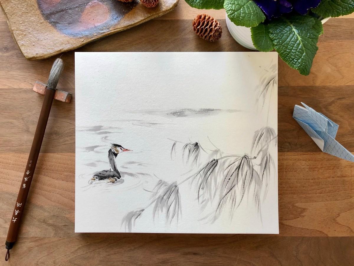 grebe painting