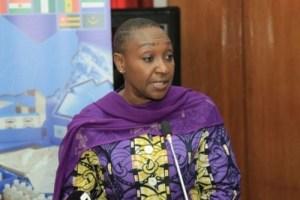 La ministre ivoirienne de la Santé et de l'Hygiène publique, Dr Raymonde Goudou-Coffie