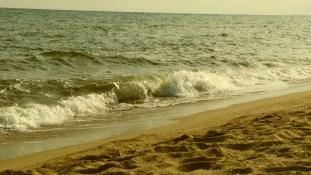 olas por la tarde