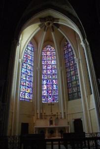 chapelle restaurée on retrouve la blancheur de la pierre
