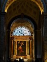 chapelle CONTARELLI de l'église Sant-Louis-des-Français de Rome, près de la Piazza Navona,