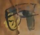 oeil d horus détail momie dame de kemet  ( Barcelone)