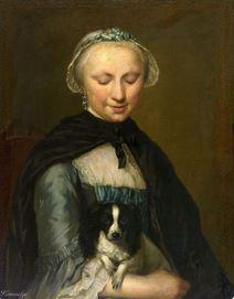 Portrait de Antoinette Metayer, vers 1759 George van der Mijn