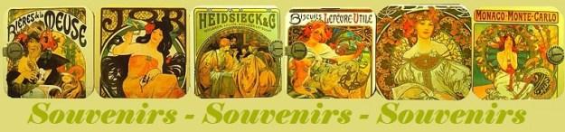 logo retro souvenirs
