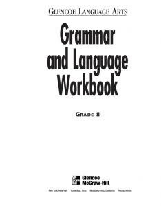 Grammar and Language Workbook Part 1 Grammar MAFIADOCCOM