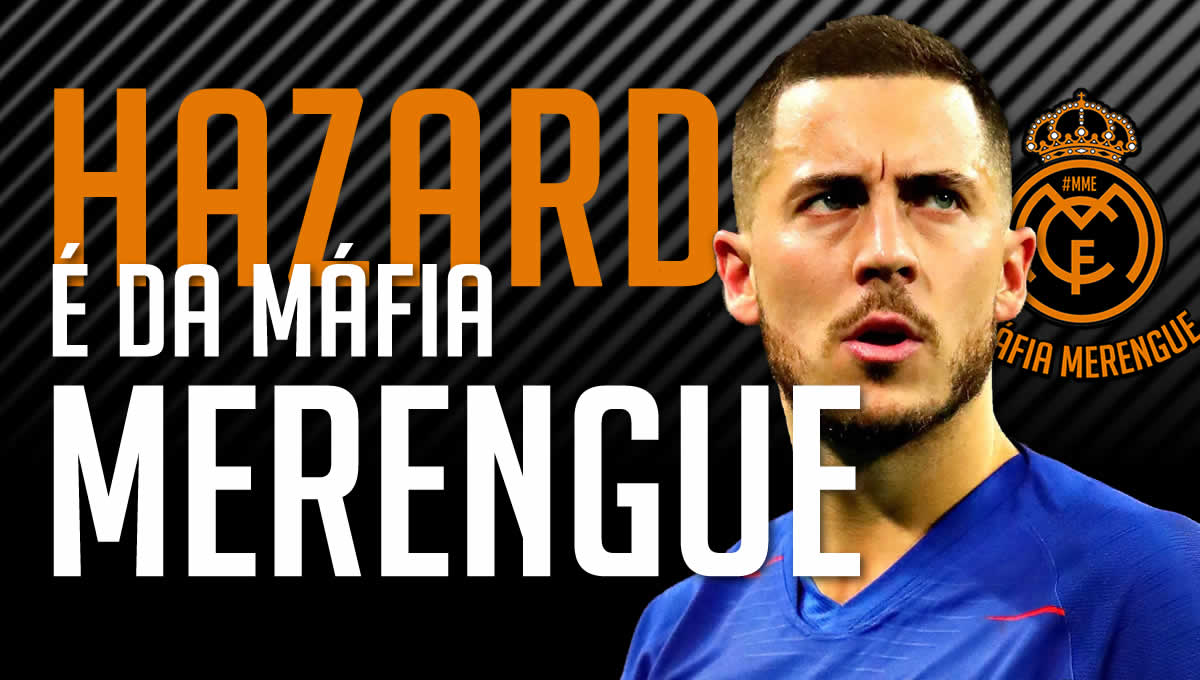 Hazard anunciado oficialmente no Real Madrid