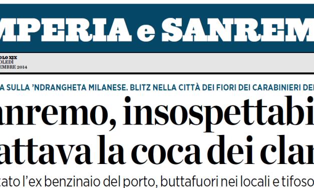 Sanremo e la cocaina dei Clan