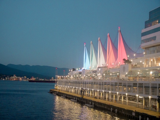 Canada Place night