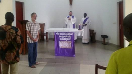 Messe à la Fraternité Lavigerie