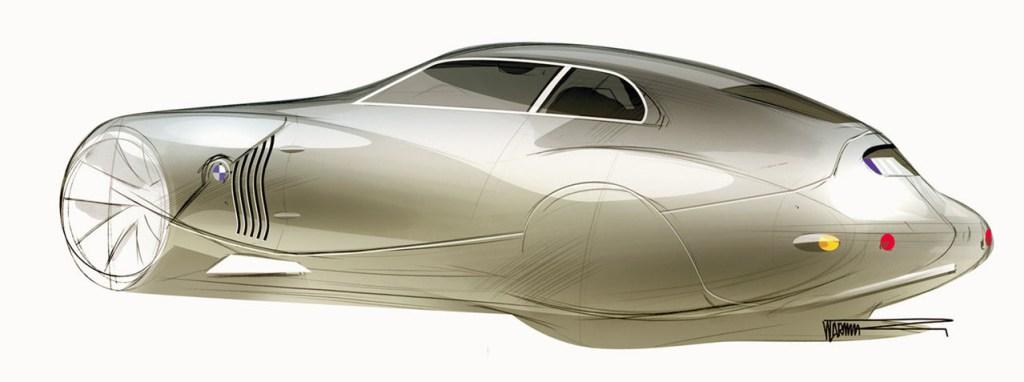 Concept Coupe Mille Miglia BMW