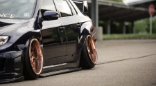 Subaru STI Stance