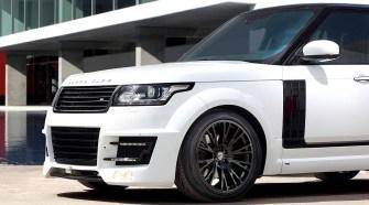 Range Rover раздался вширь - тюнинг от Lumma Designе