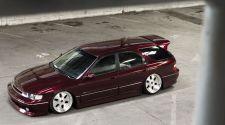 Прикольный сарай на жирных колесах - stance проект 1995 Honda Accord