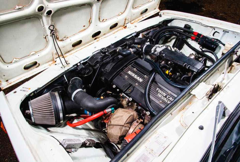 ВАЗ-2104 - с двигателем CA18DET от Nissan 200SX (S13) мощностью более 400 л.с