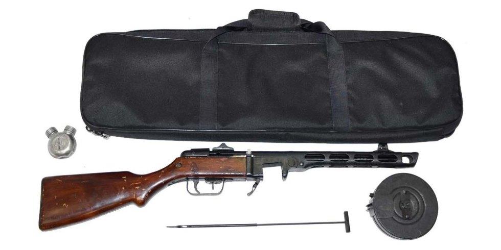 Клейма на Пистолете-пулемета Шпагина ППШ-41