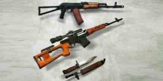 Макеты оружия