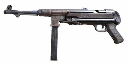 Охолощенный немецкий автомат МП-40 (Пистолет-пулемёт МР-40 СХП)