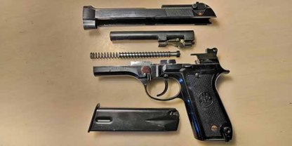 Охолощенный Пистолет Беретта 92