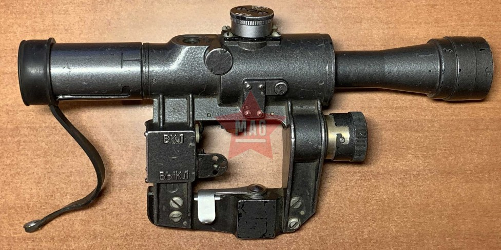 Оптический Прицел ПСО-1 (армейский с люминесцентным экраном) для СВД ВСС АК Тигр