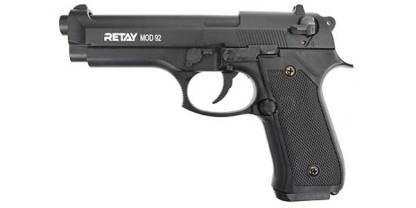 Охолощенный пистолет Retay Mod 92 (Beretta 92), кал. 9мм P.A.K