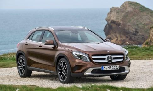 Mercedes-Benz GLA-Klasse, GLA 220 CDI 4MATIC, Exterieur   Mercedes-Benz GLA-Class, GLA 220 CDI 4MATIC, exterior