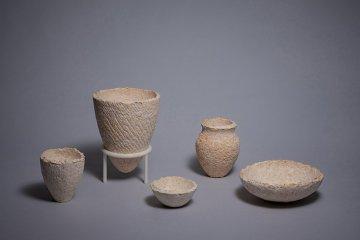 蘑菇菌絲成器皿?韓國開發新環保天然材質