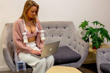 Nurturally 設計改善自動擠奶胸罩,解放母親的雙手
