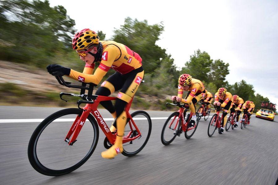 The Norwegian Uno-X Pro Cycling team (Image: DARE)