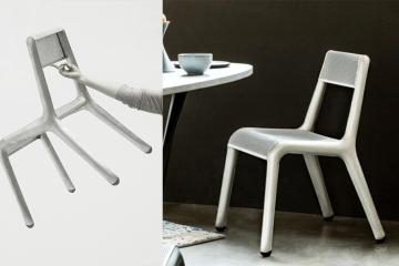 Zieta 開發 FiDU 製程新作!超輕量鋁合金椅 Ultraleggera 一根手指就能拿起