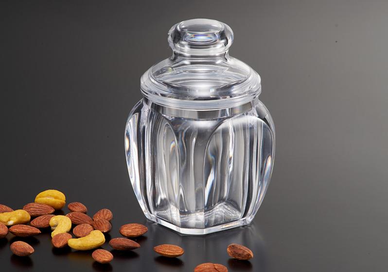 塑膠射出製作的透明容器