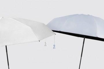 RAINDOLL 傘巧妙結合晴天娃娃,遮雨同時還能求好天氣