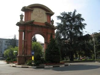 Arco piazza Genova