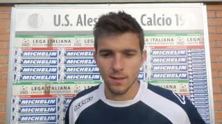 Gianluca Nicco dopo Cuneo-Alessandria CorriereAl