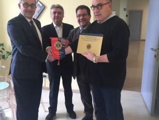 Il Lions Club valenzano dona una nuova sonda per l'ecocardiografo al distretto di Valenza CorriereAl