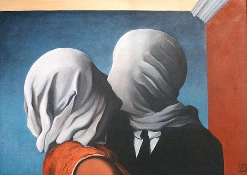 Les amants di Magritte: l'Amore che va oltre l'impossibilità di Amarsi [Very Art] | | CorriereAl