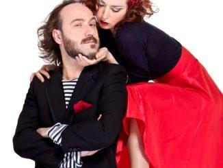 """Teatro Sociale di Valenza: Marta e Gianluca inaugurano la rassegna di cabaret """"Morire dal ridere"""" CorriereAl"""