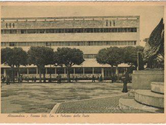 Palazzo delle Poste e Mosaico [Un tuffo nel passato] CorriereAl 4