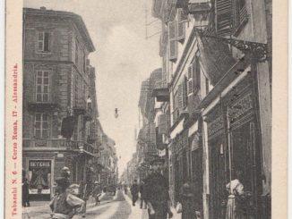 Carnevale 1900, Via Umberto I, Corso Roma e Lucia Lunati #9 [Un tuffo nel passato] CorriereAl