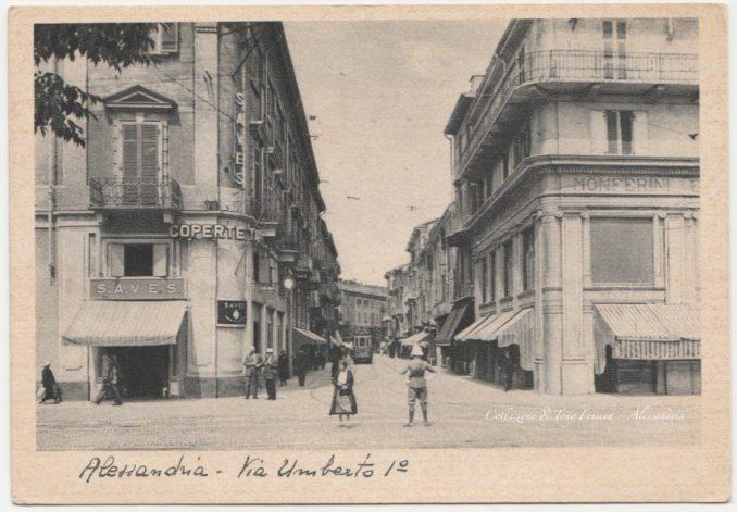 Piazza Rattazzi, Via Umberto I, la S.A.V.E.S. e Lucia Lunati #13 [Un tuffo nel passato] CorriereAl