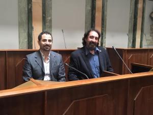 Folla e applausi al primo consiglio comunale di Palazzo Rosso: Locci eletto presidente, mentre nell'aria aleggia 'l'affaire' Aral CorriereAl 2