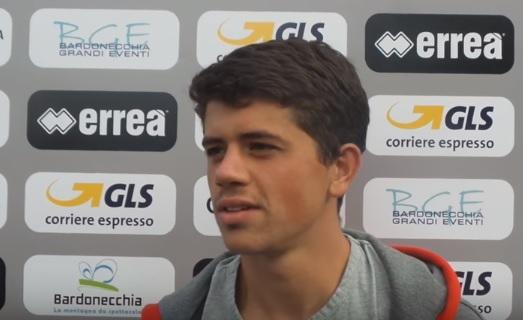 Andrea Pastore dopo l'amichevole con il Lugano Under21 CorriereAl
