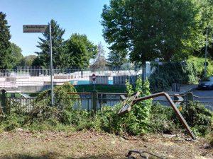 Giardinetti ponte Tiziano, va ripristinato il decoro urbano CorriereAl