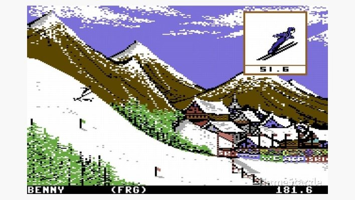 Winter Games [C64]