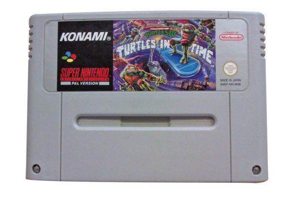"""Das """"Turtles in Time"""" PAL Modul für das Super Nintendo!"""