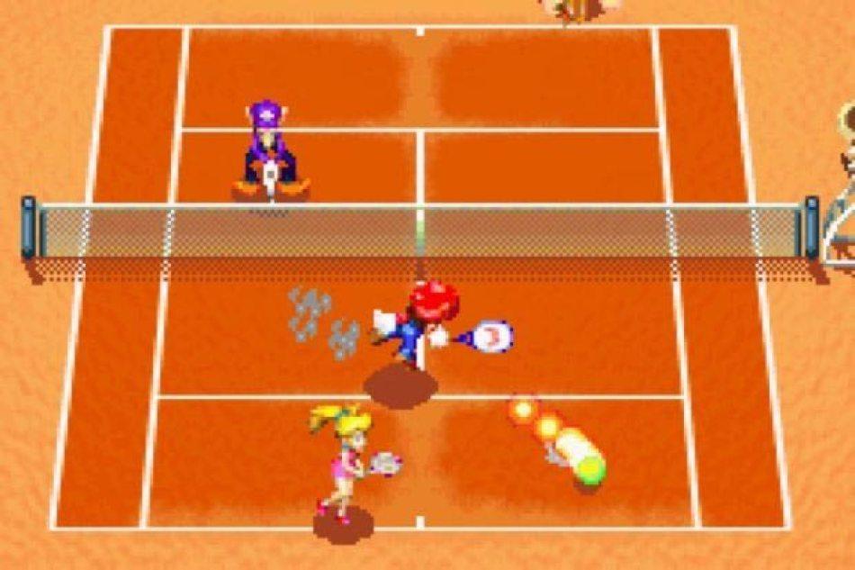 mario power tennis 2