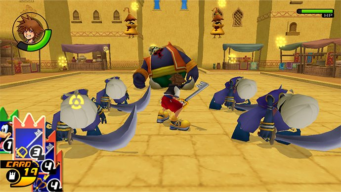 ReCoM Sora Battle Agrabah 2